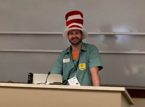 Adam Fuchs channels Dr. Seuss