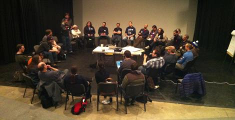 Unconference chair circle