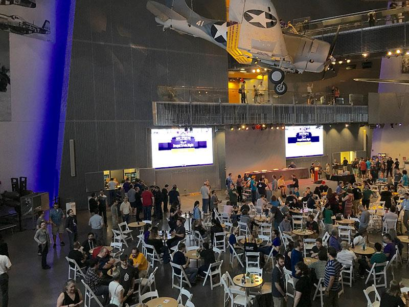 Drupacon trivia night at World War II museum