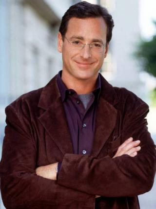 Bob Saget with arms crossed